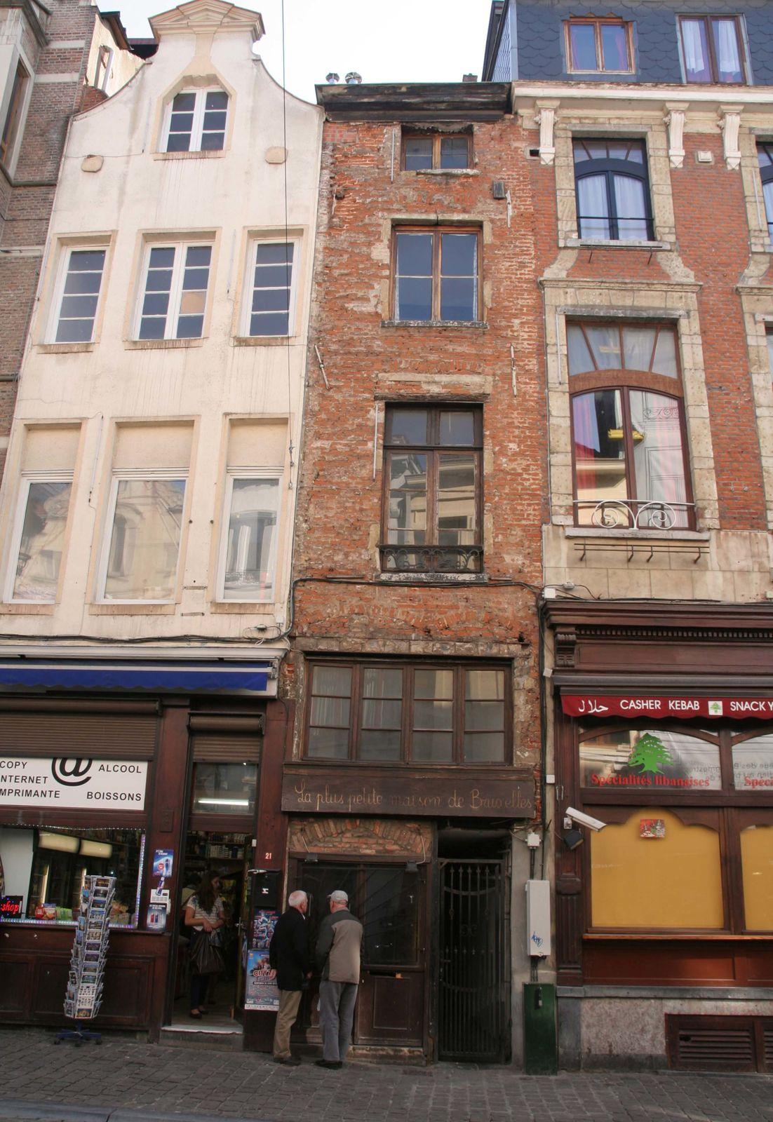 La plus petite maison de bruxelles le blog de ritournelle for Maison minimaliste belgique