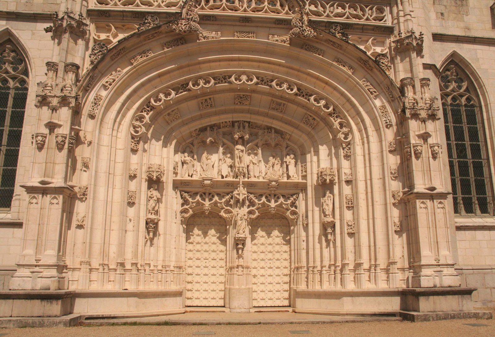 Le monastère de Brou, merveille du gothique flamboyant