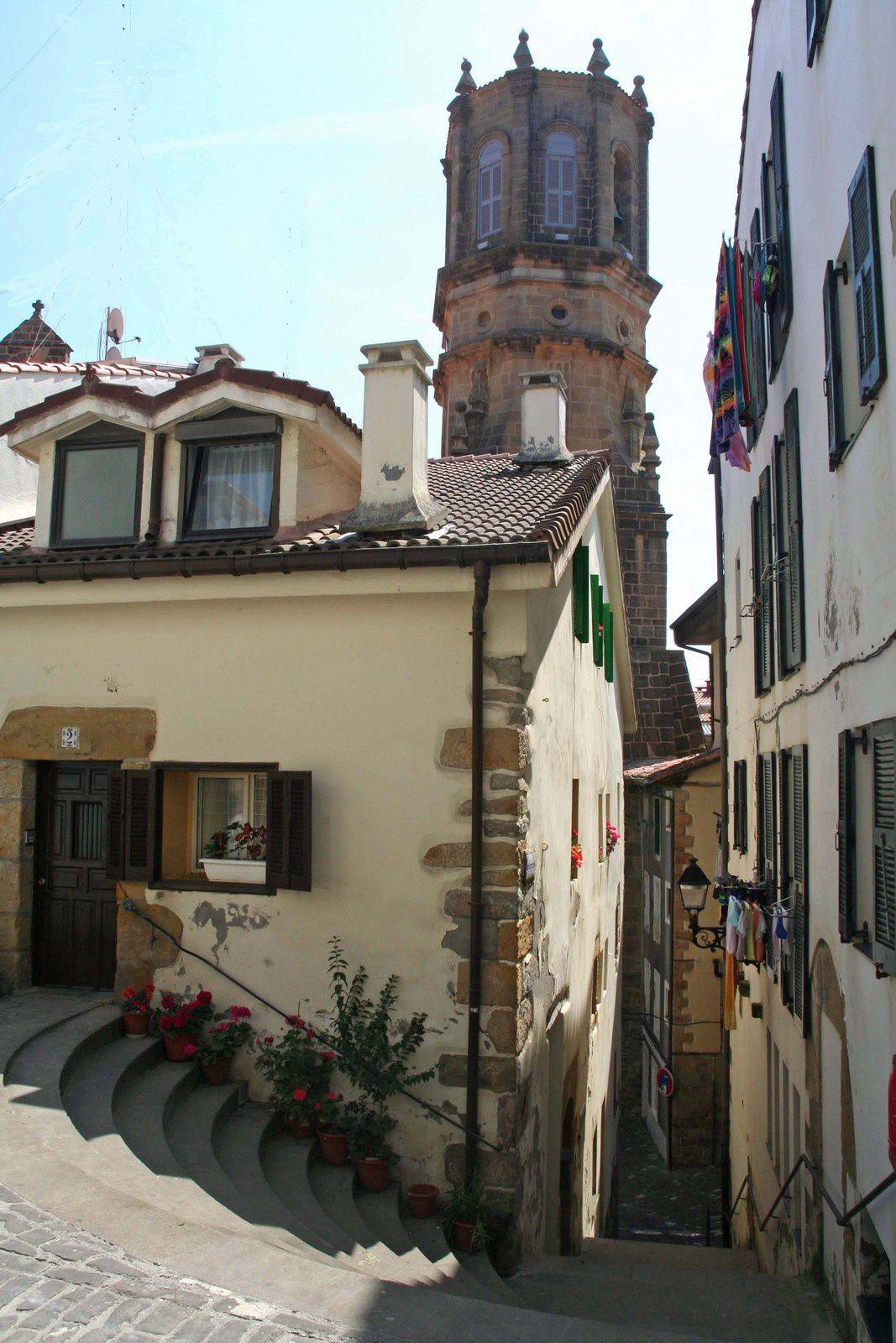 Balade à Getaria, en pays basque sud