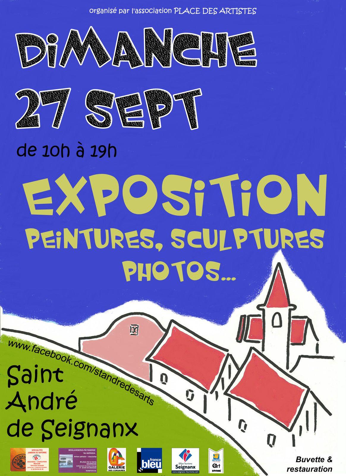 Demain, place aux artistes à St André de Seignanx