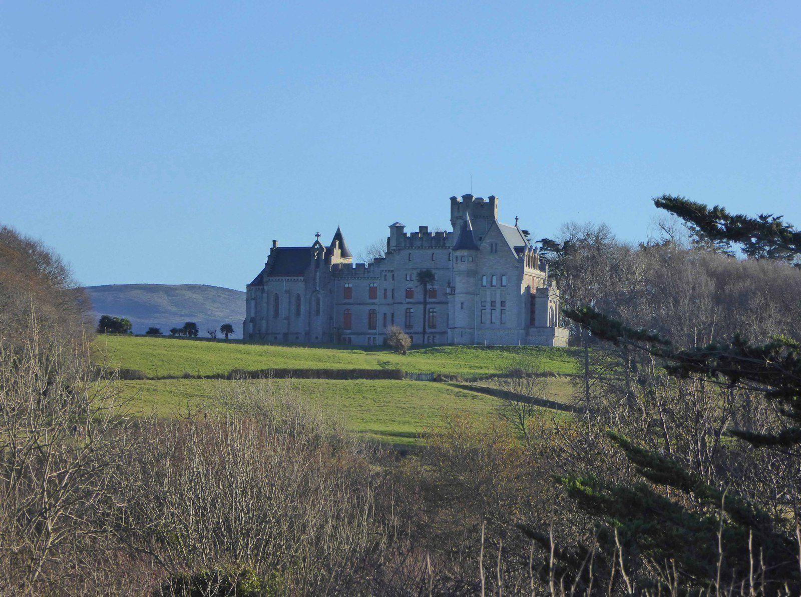 Le château d'Antoine ou château d'Abbadia