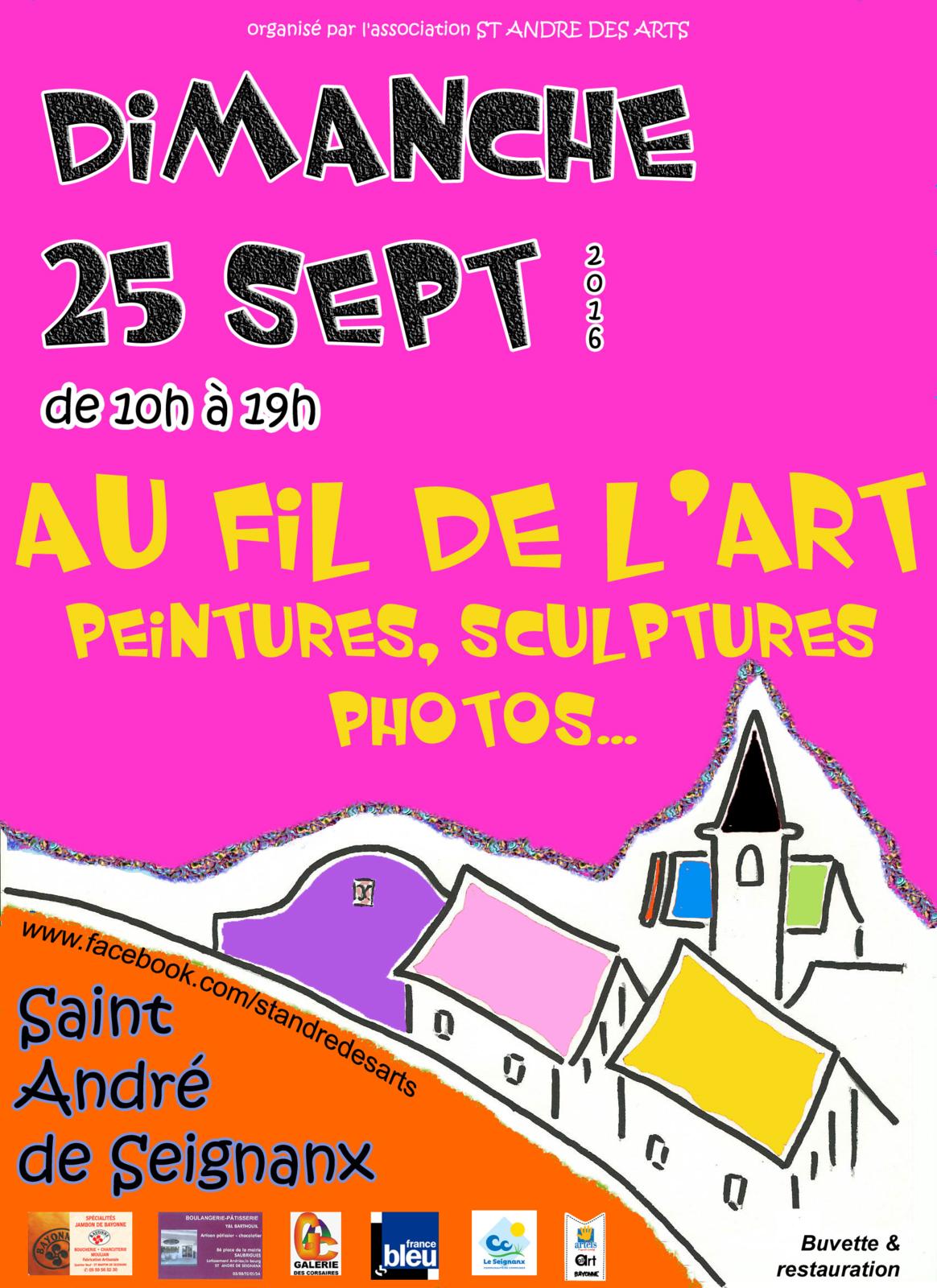 Une suggestion pour Dimanche : l'expo à St André de Seignanx