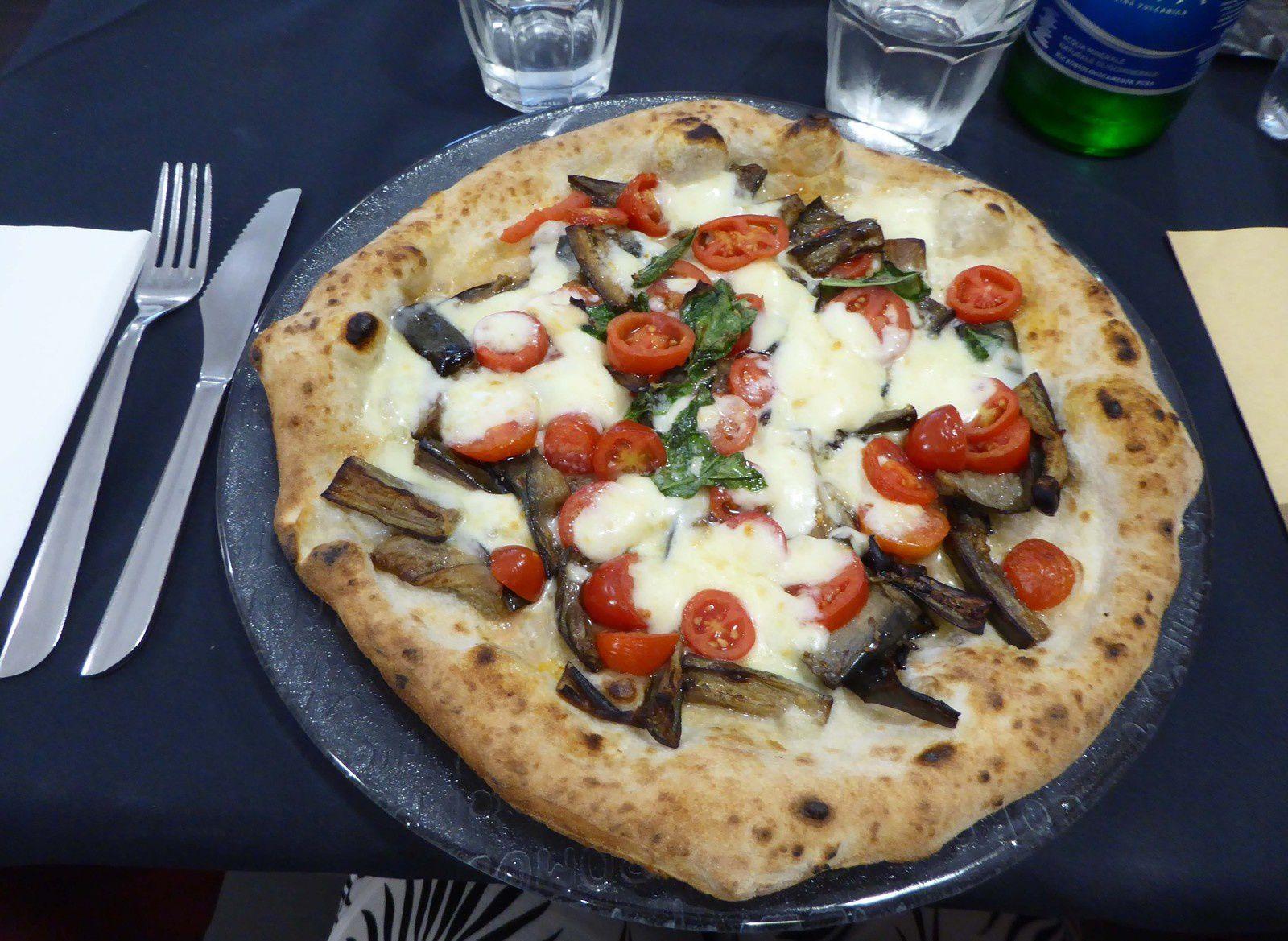 La pizza siciliana de la Starita
