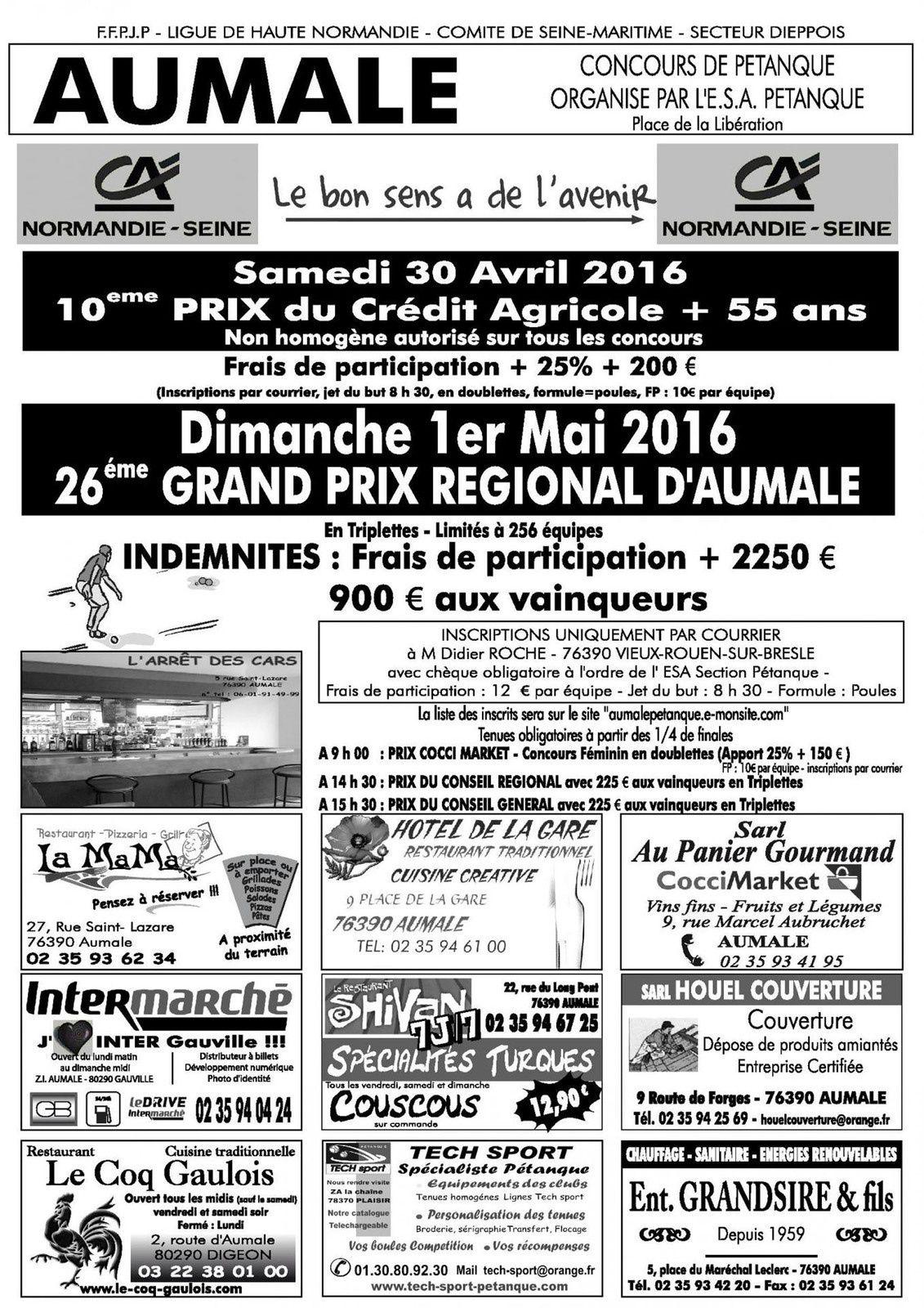 2016-05-01 Aumalle Triplette Grand Prix