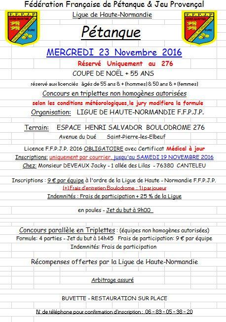 2016-11-23 St Pierre  Coupe de Noël + 55 ans