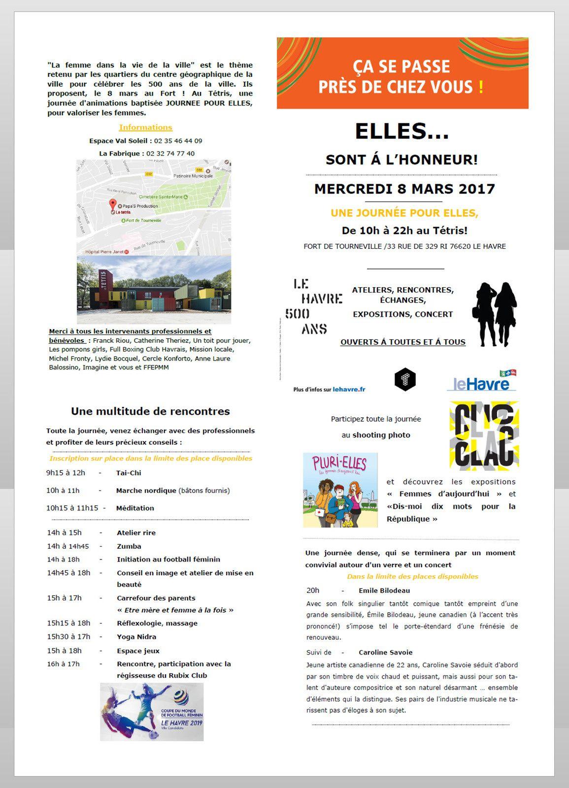 ELLES... SONT A L'HONNEUR