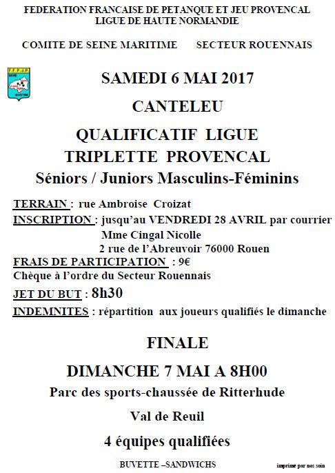 2017-05-06 Canteleu Qualif Champ ligue Triplette provençal