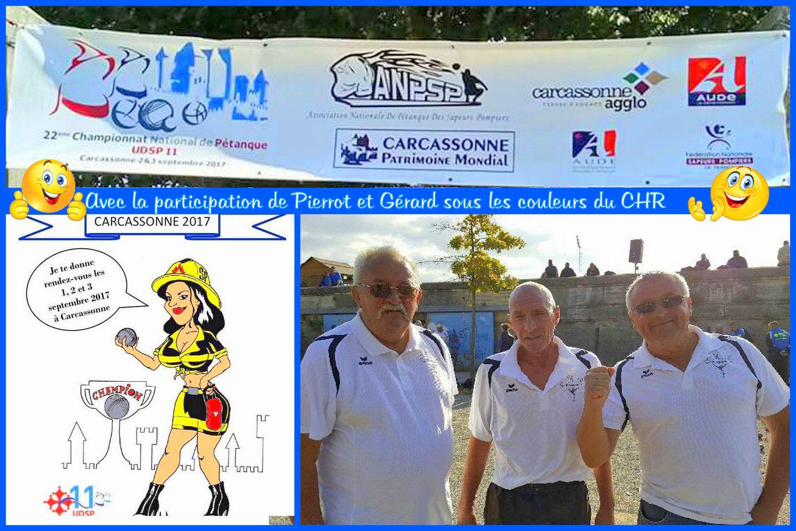 Pétanque: Championnat de France de Sapeurs-Pompiers