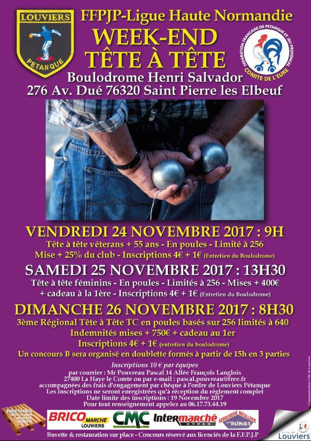 2017-11-24 St Pierre  Week-End Tête à Tête