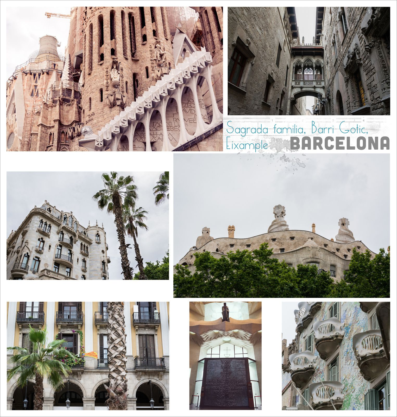 Photos Barcelone et Album Monument Valley