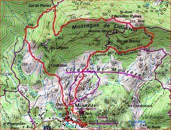 """Randonnée """"Mourèze"""" du 24 mai 2013"""