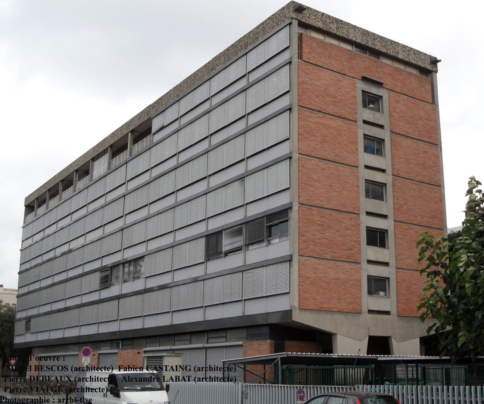 Cité administrative de Toulouse, Inspection académique