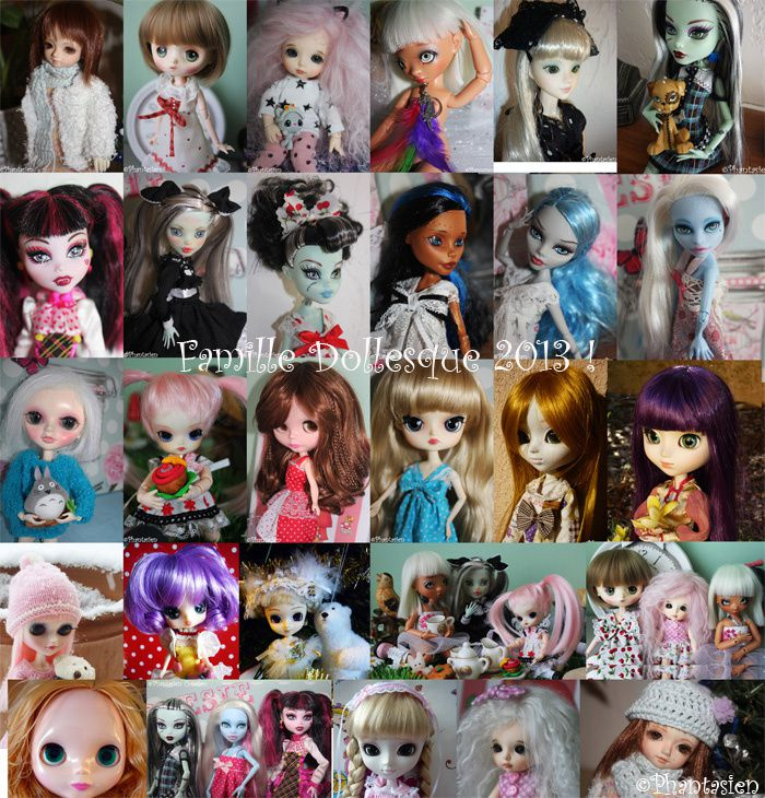 Mosaïque collection dolls !