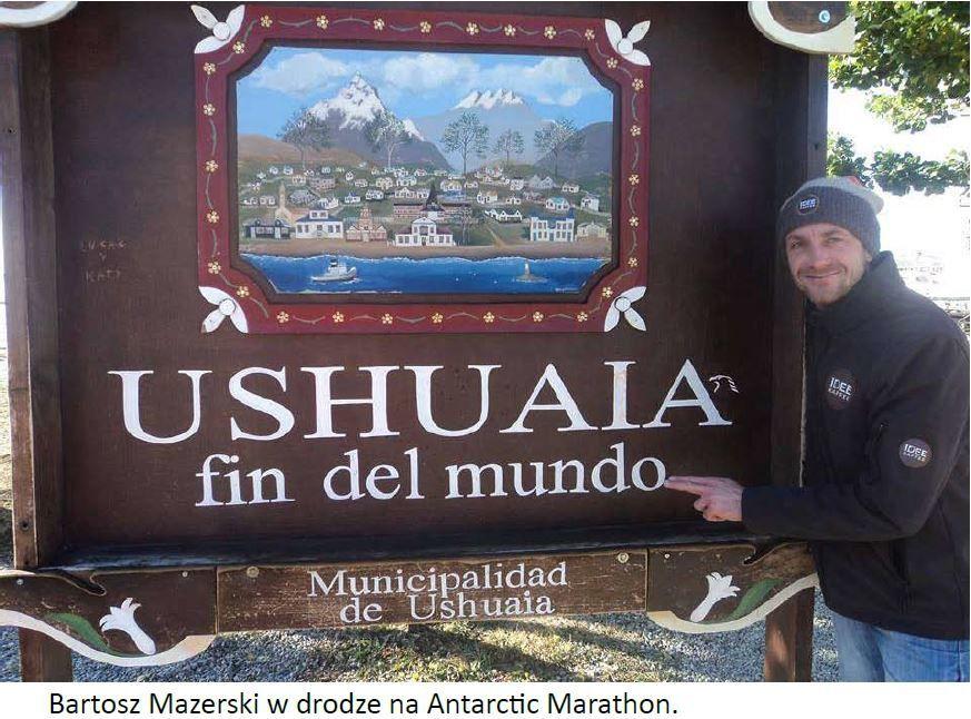 Il a gagné le marathon en…Antarctique !