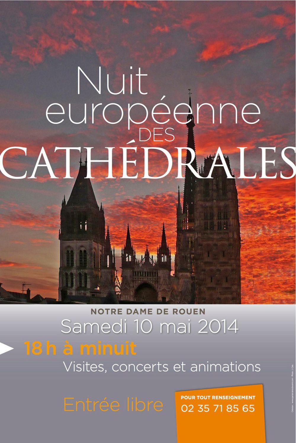 10 mai, Nuit européenne des cathédrales