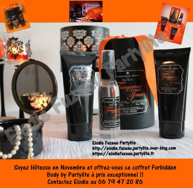 Coffret Forbidden Body by Partylite