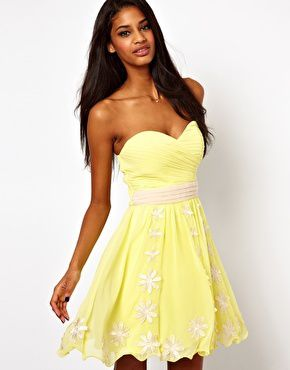 Asos robe soiree rose