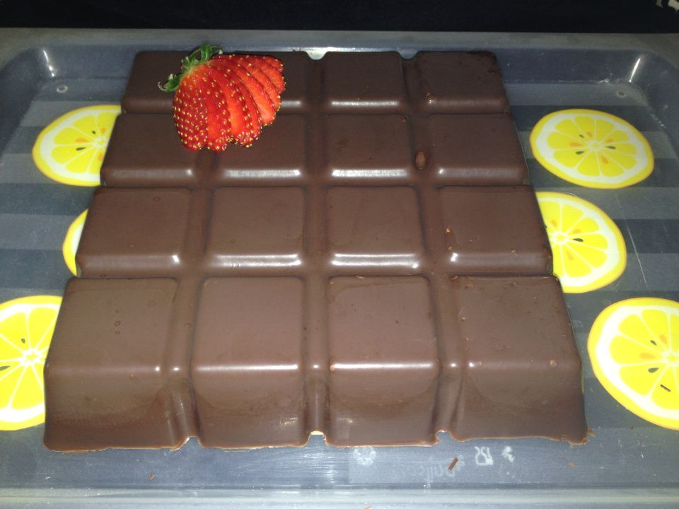 tablette choco fruits rouges