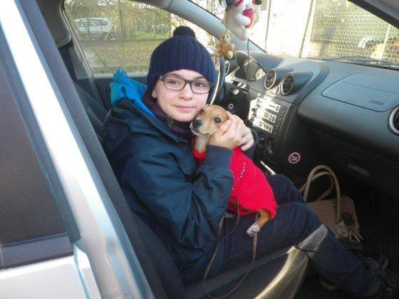 JILLIE adoptée le 02-01-15.