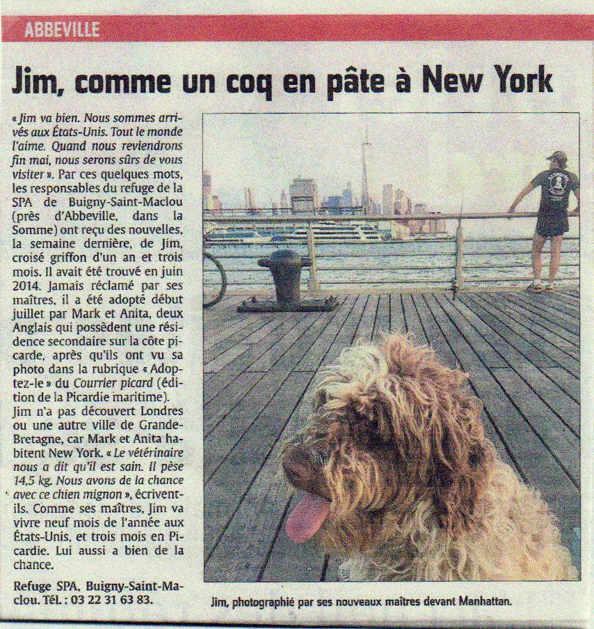 JIM devant MANHATTAN