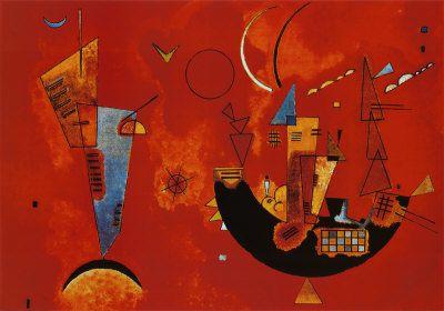 Le peintre Wassily Kandinski