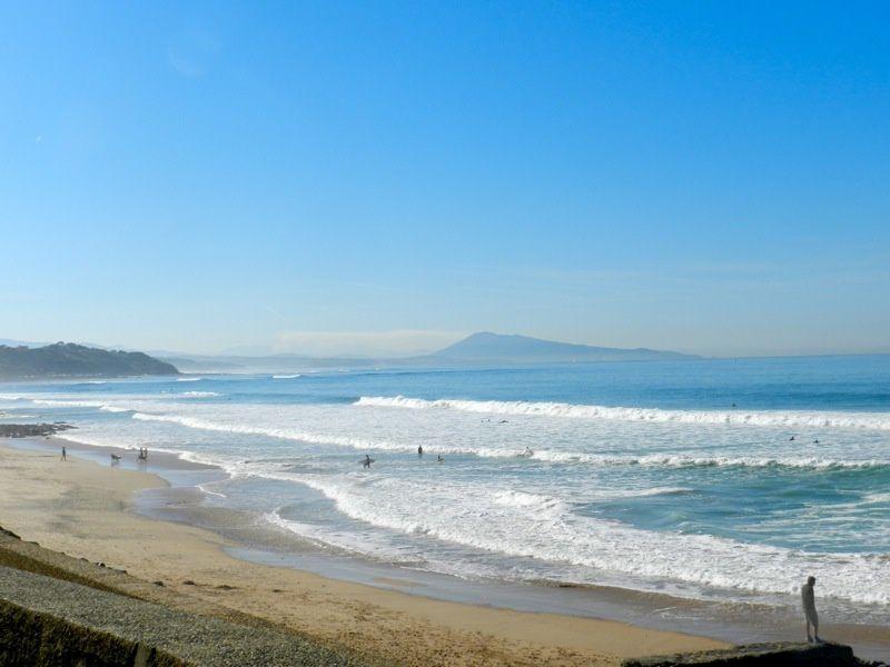 La plage de Bidart