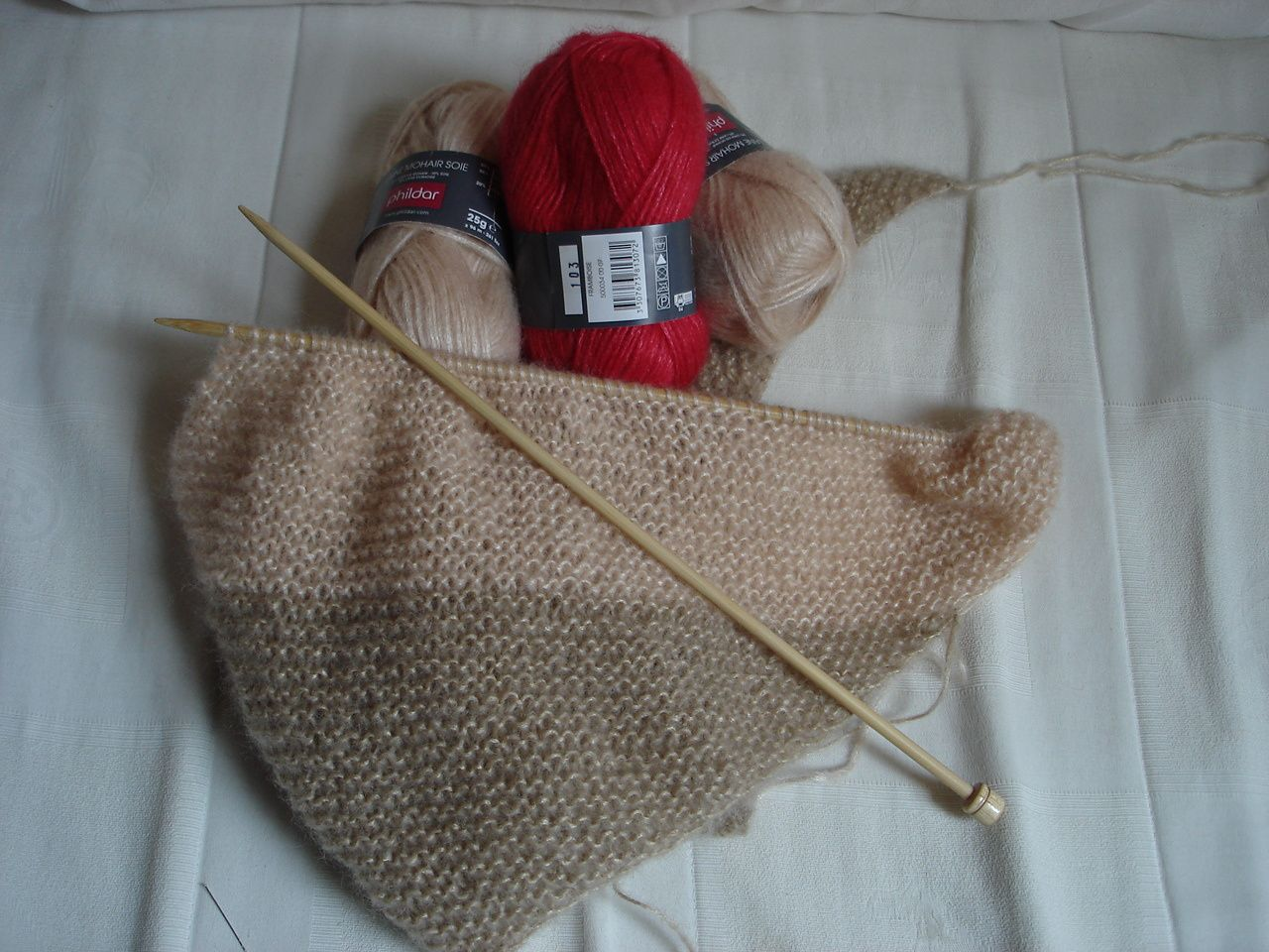 Mes Encours...Tricot ,couture !