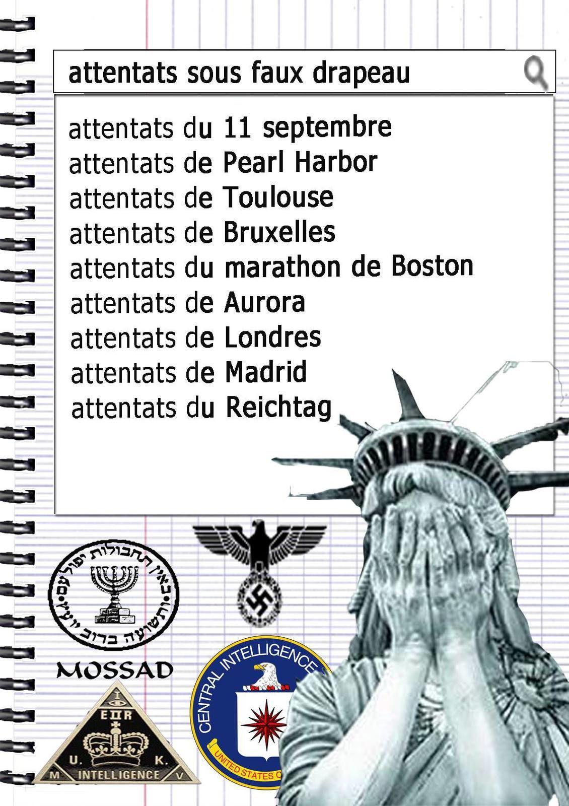 Attaques sous faux drapeau et opérations &quot&#x3B; Gladio &quot&#x3B;