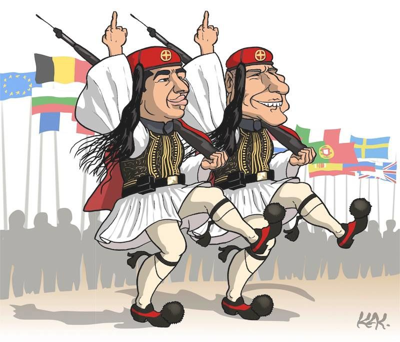La Grèce n'a pas à payer pour une dette qui n'est pas la sienne !