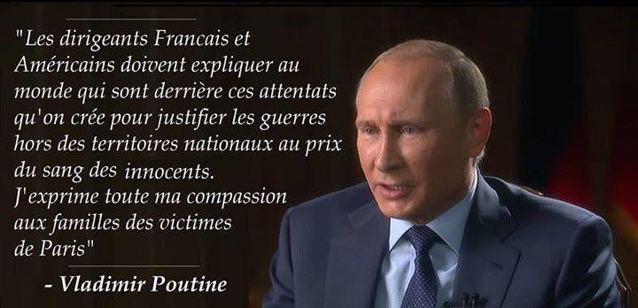 Attentats de Paris, dictature et troisième guerre mondiale