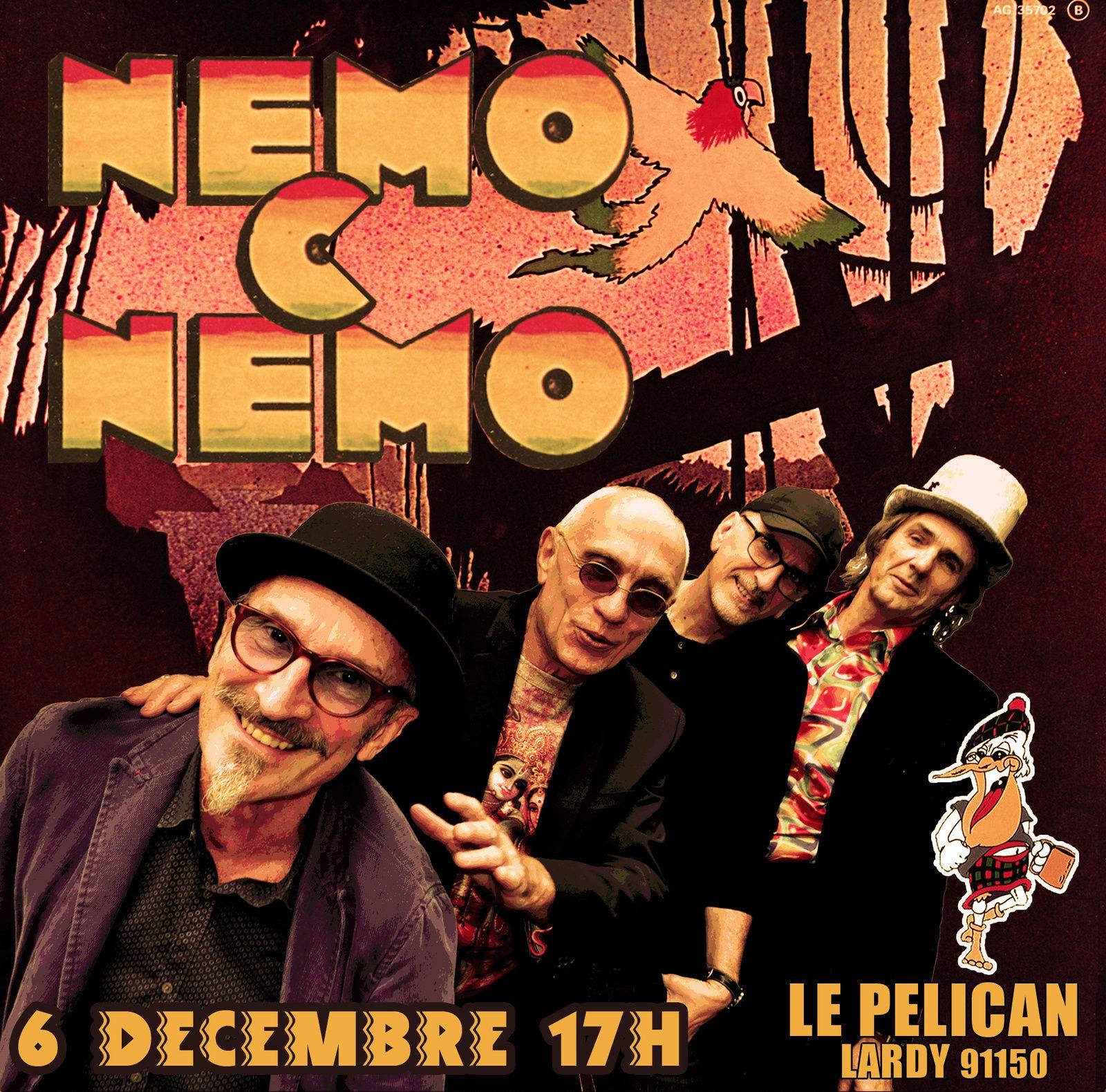 Prochain Concert : Nemo C Nemo