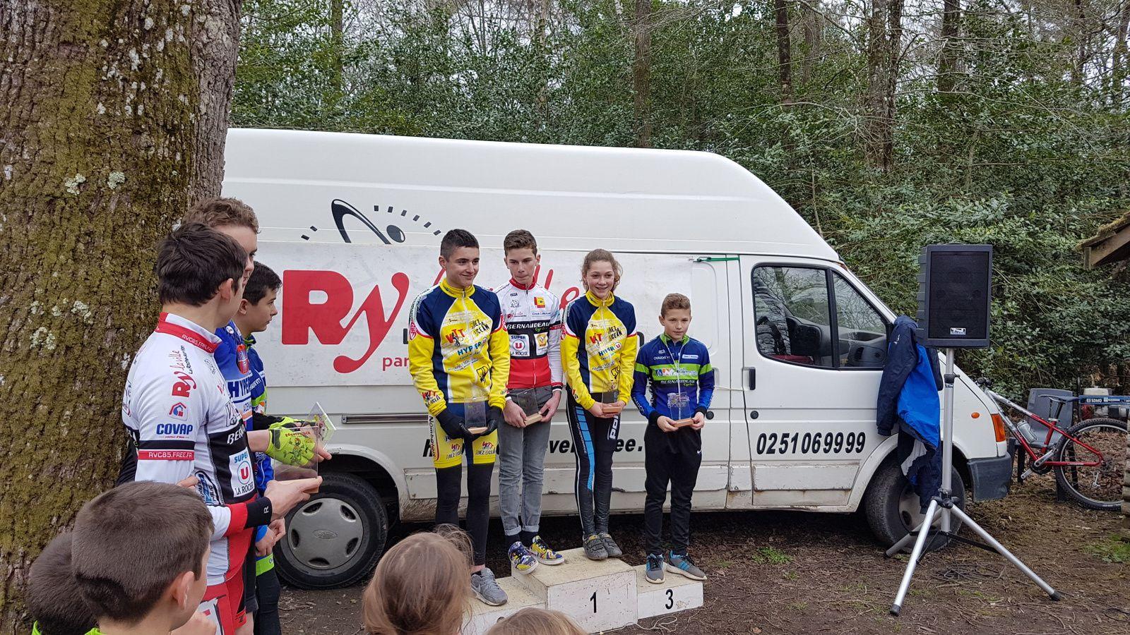 Kids VTT de la Roche sur Yon (18 mars)