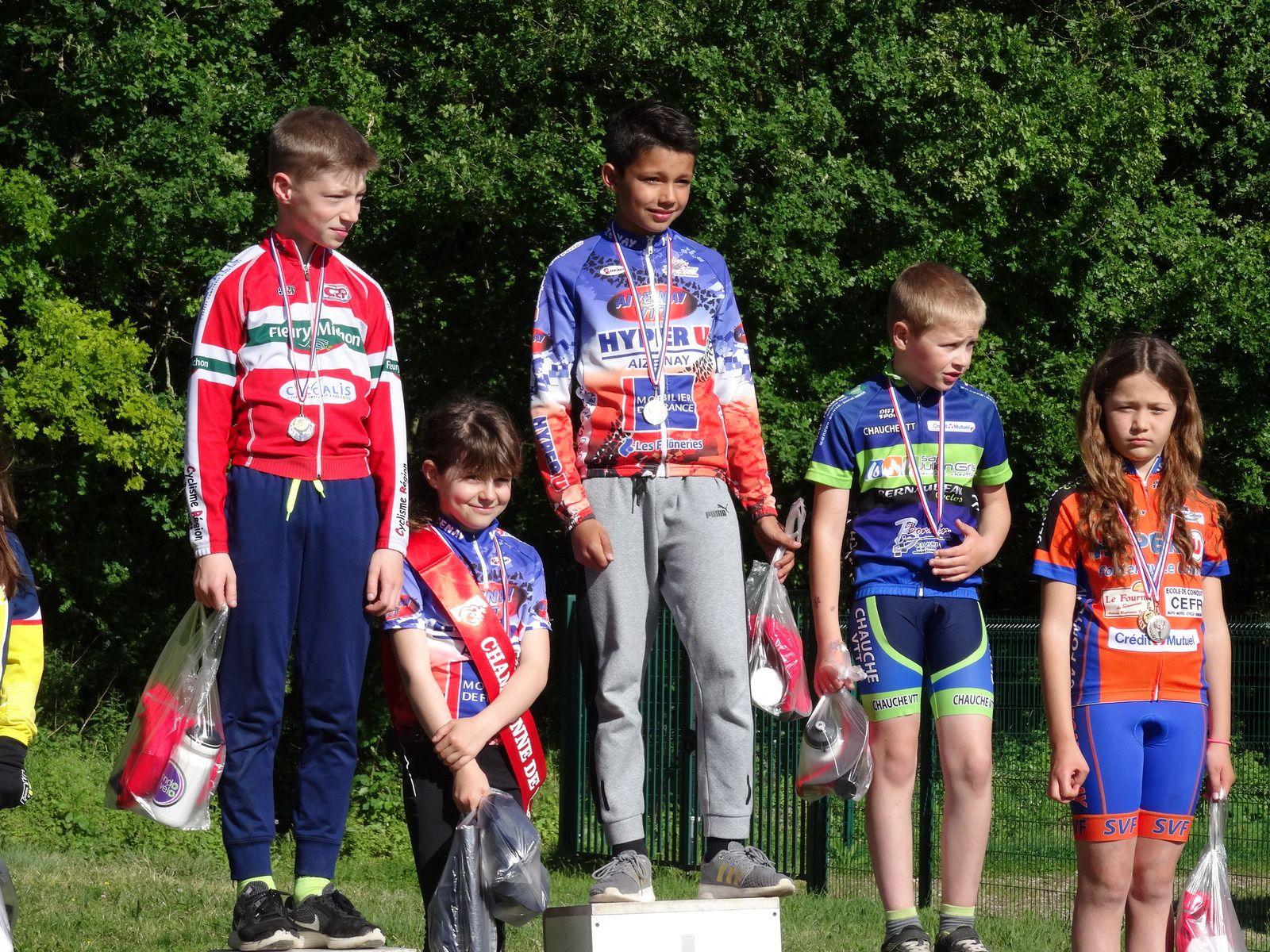 Kids VTT à Aizenay (13 mai)