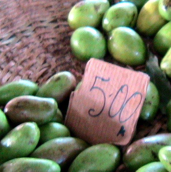Tartelettes crues à la mangue sauvage du Cameroun