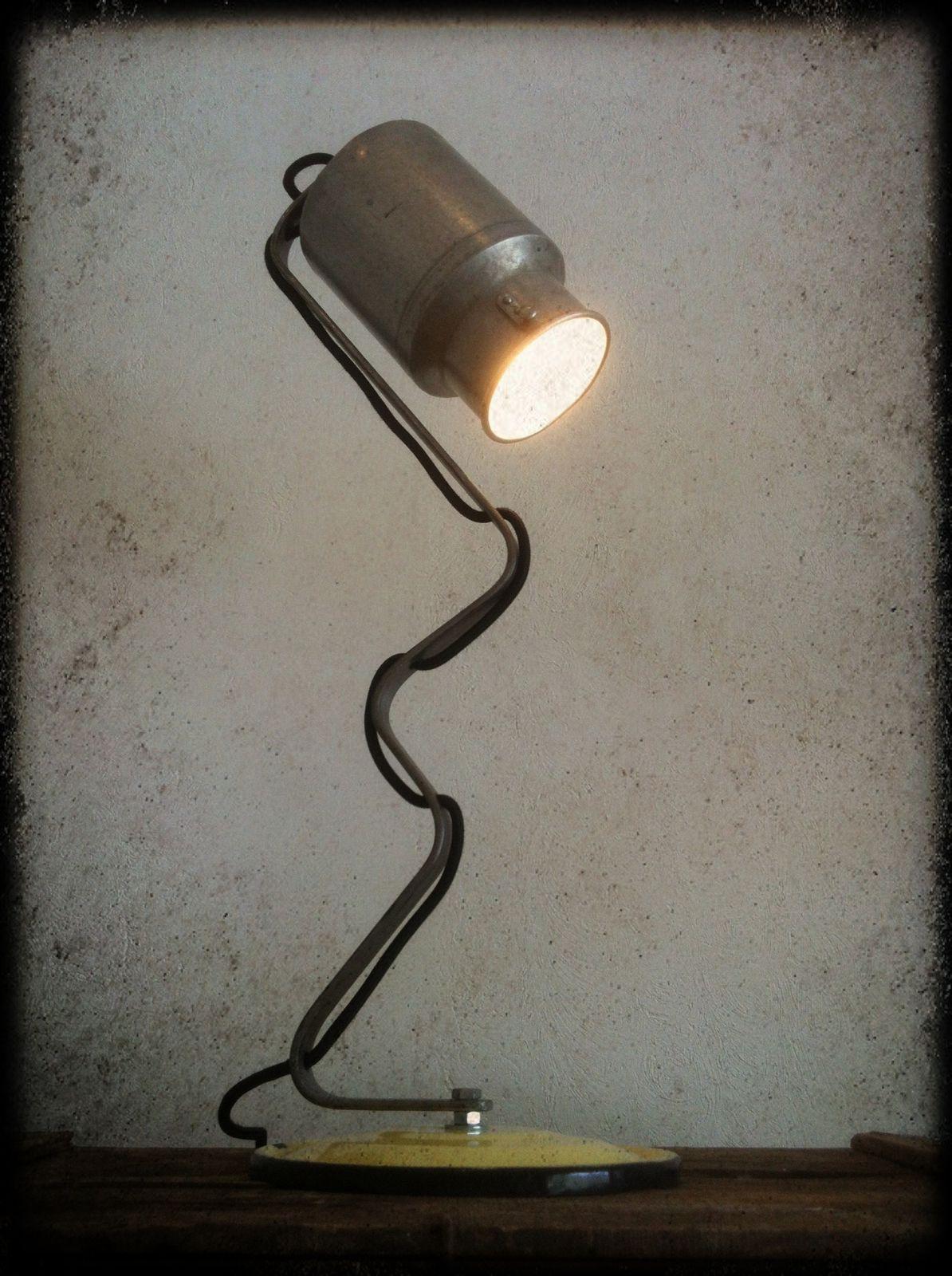 Lampe &quot&#x3B;Milky&quot&#x3B; H 65cm (disponible)