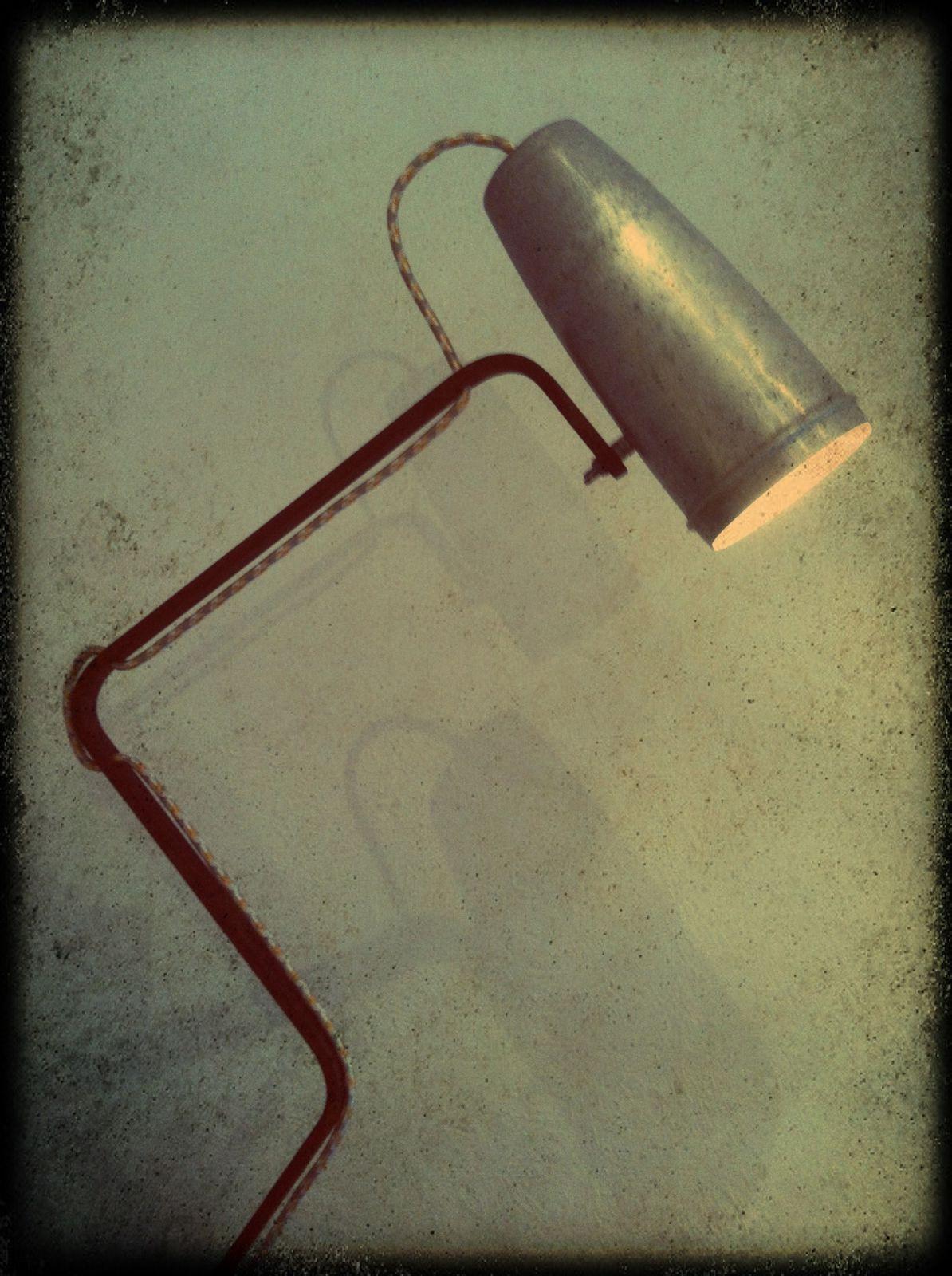 """Lampe """"Shaker 2"""" H 80cm (vendu)"""