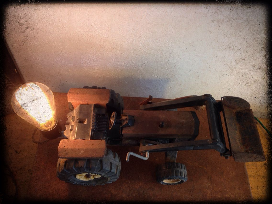 Lampe &quot&#x3B;tracto&quot&#x3B;
