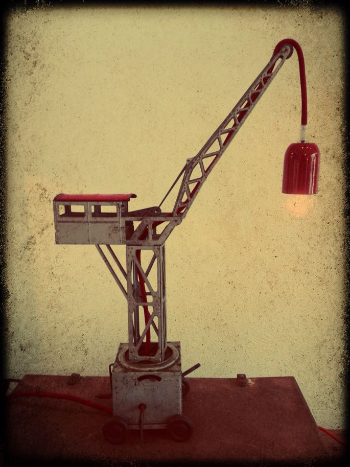 Lampe &quot&#x3B;Construction&quot&#x3B; H 55cm