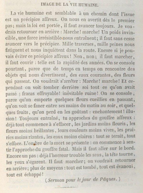 L'Homme et sa vanité ! à lire, un régal . Image de la vie humaine extrait du sermon pour le jour de Pâques.