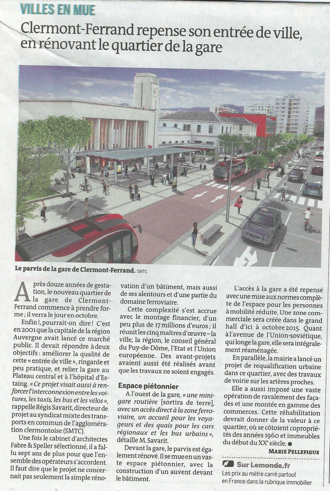 Des quartiers en restructuration en France (2)