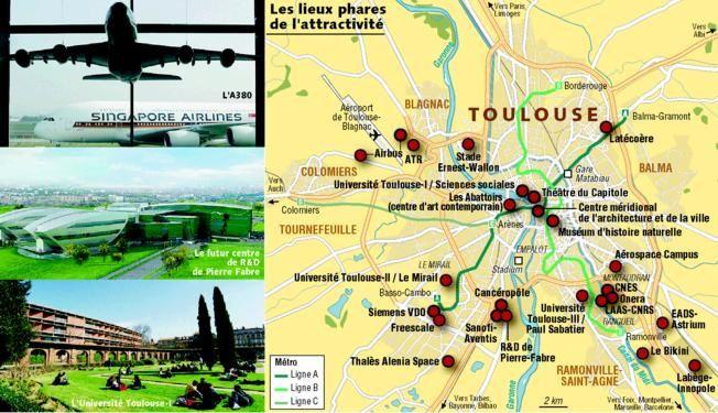 Les territoires de l'innovation en France (Etude d'un dossier documentaire)