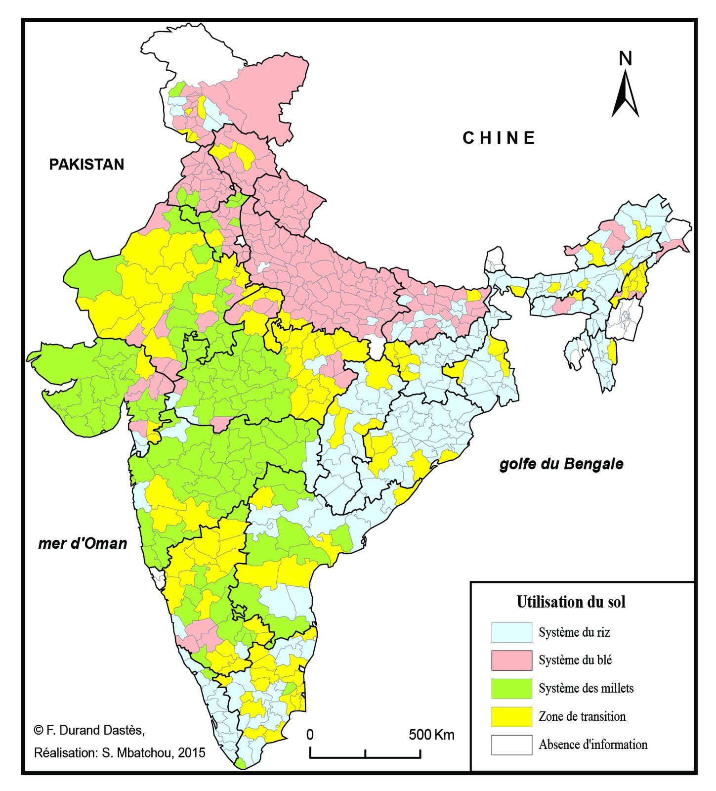 Carte De Linde Avec Le Gange.Cartes Sur L Inde Geobunnik