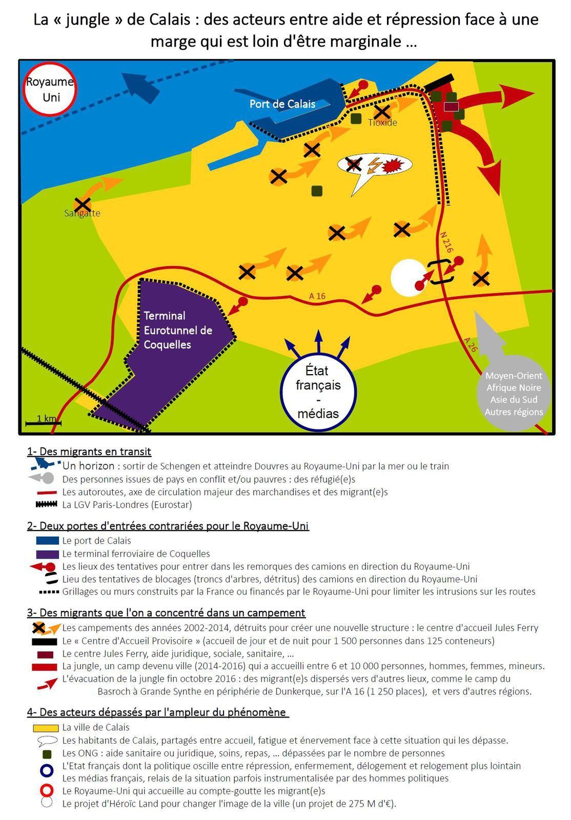 Docs pour la France des marges 2 : spécial Calais
