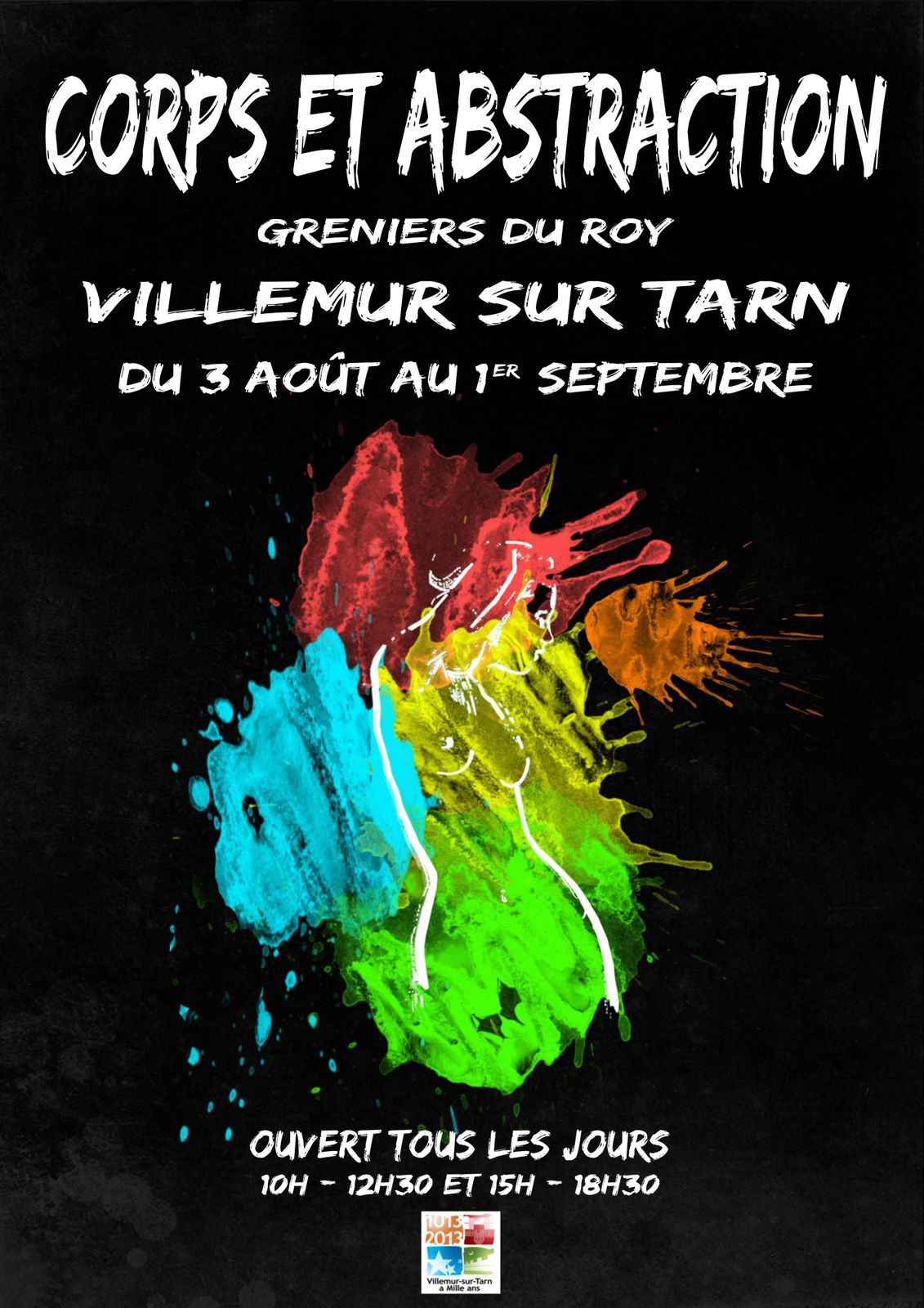 Villemur sur Tarn, exposition « Corps et abstraction ».
