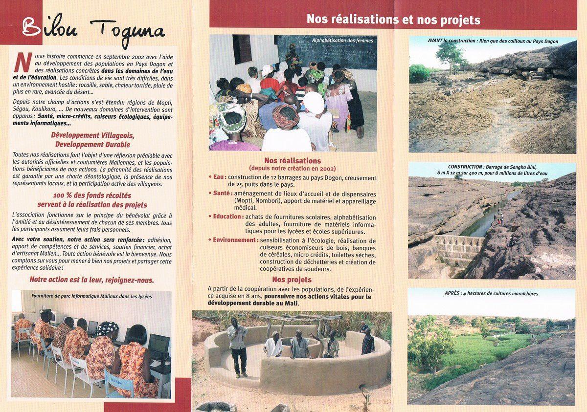 Associations pour le Mali.