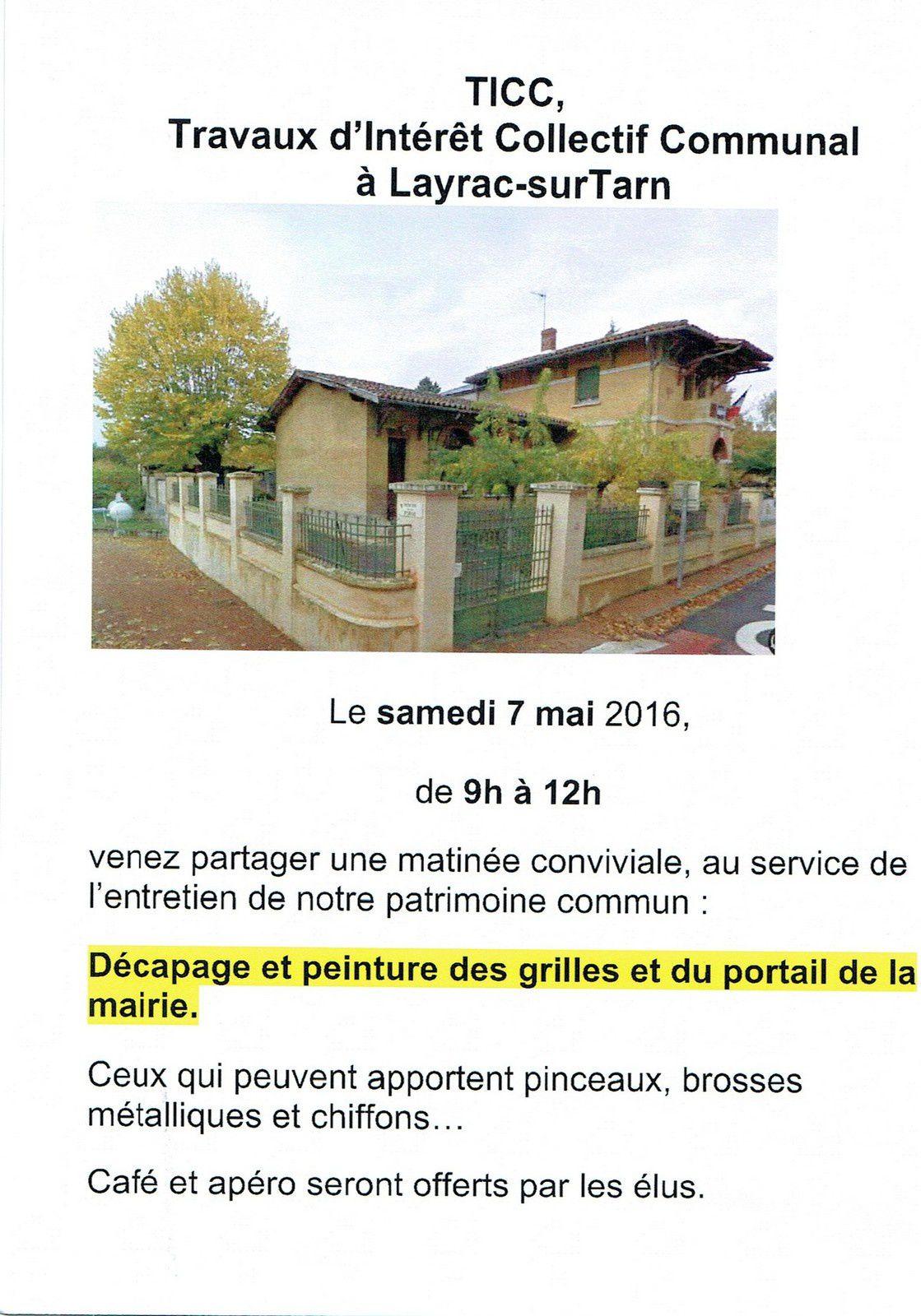 Layrac-sur-Tarn : Exposition.