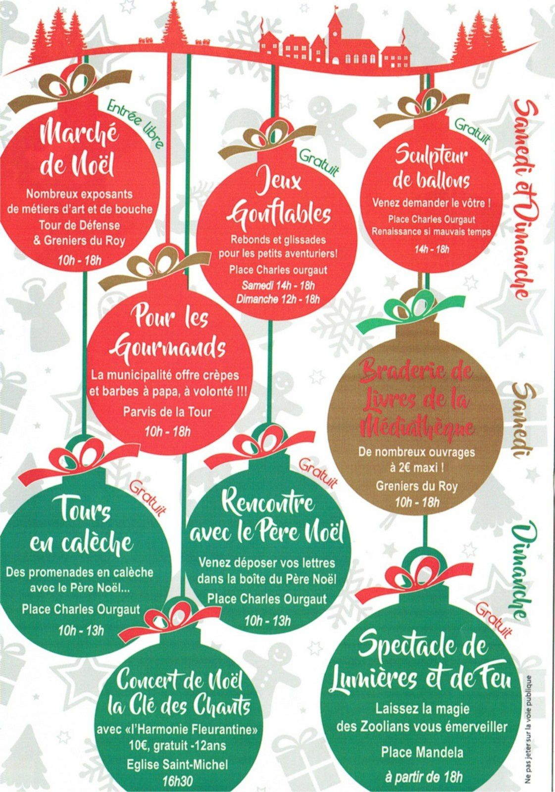 Festivités de Noël à Villemur