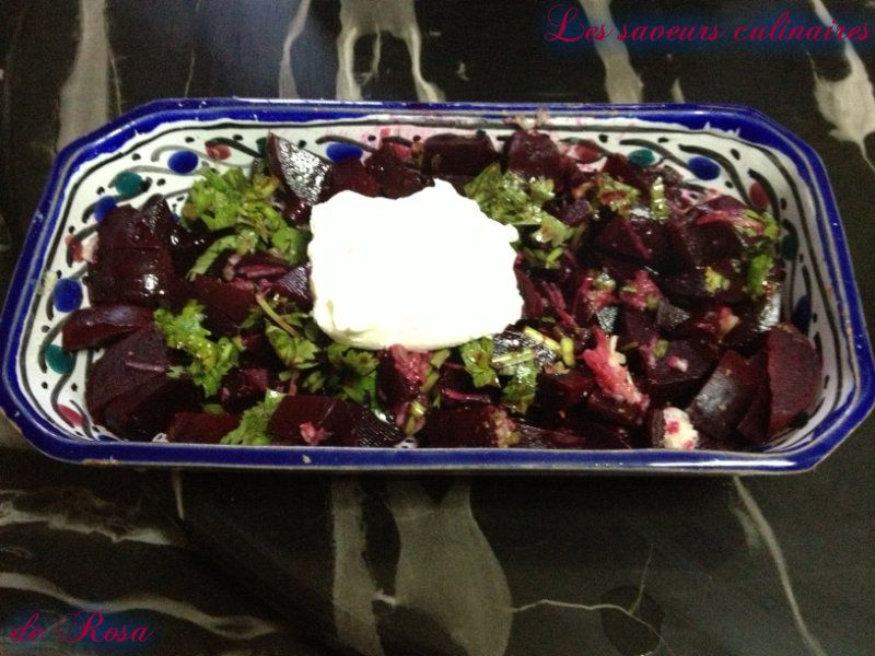 Salade de betterave