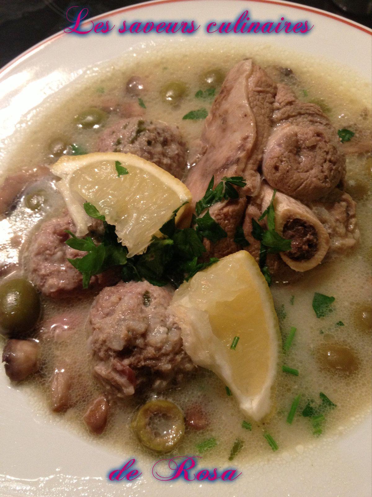Tajine d'olive (tajine zitoune)