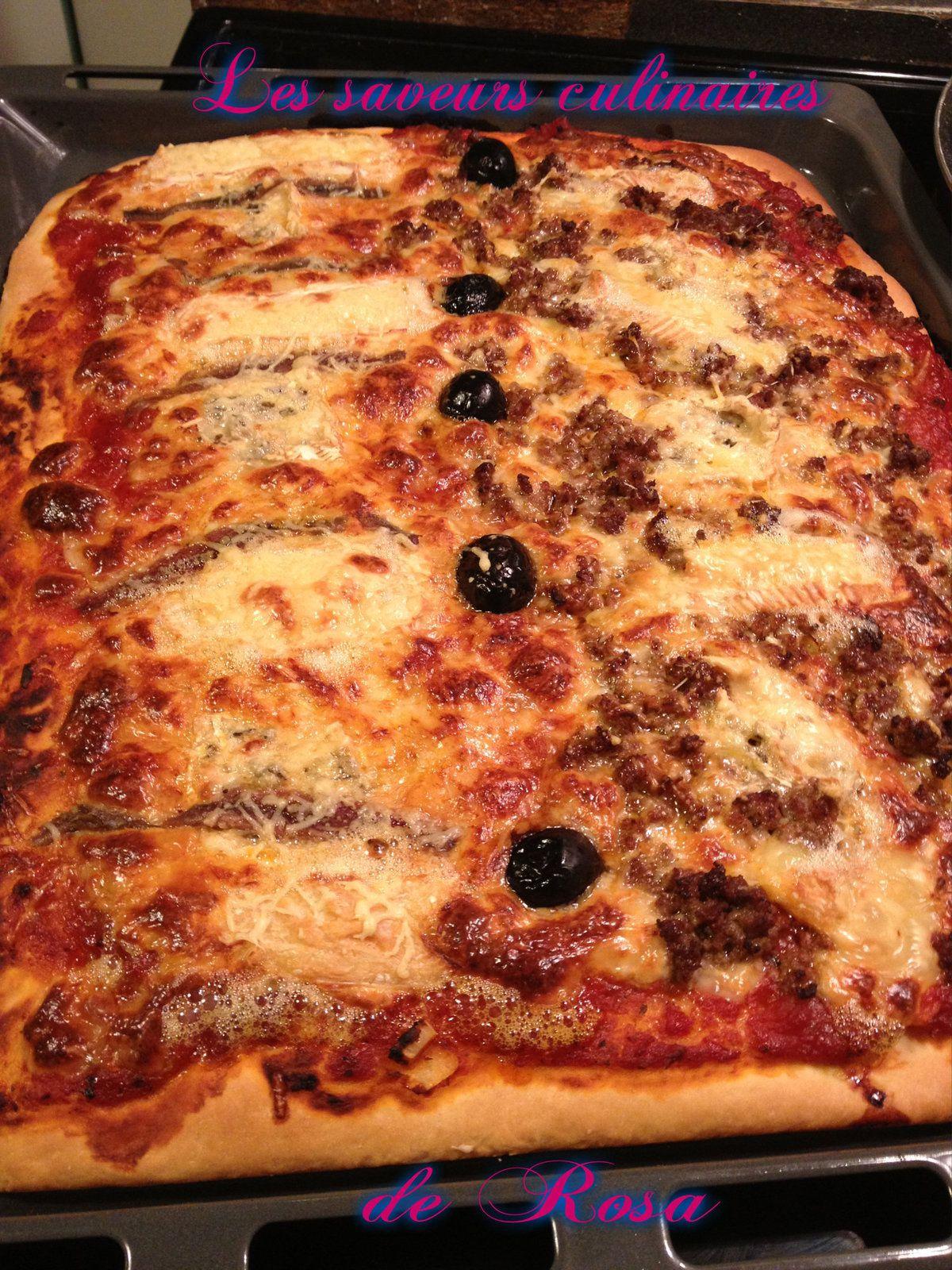 Pizza aux multis saveurs